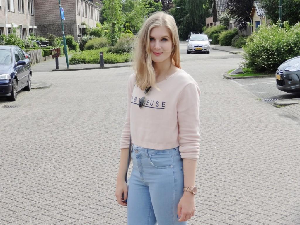 OOTD: Blouse & Sweater Sarah Rebecca
