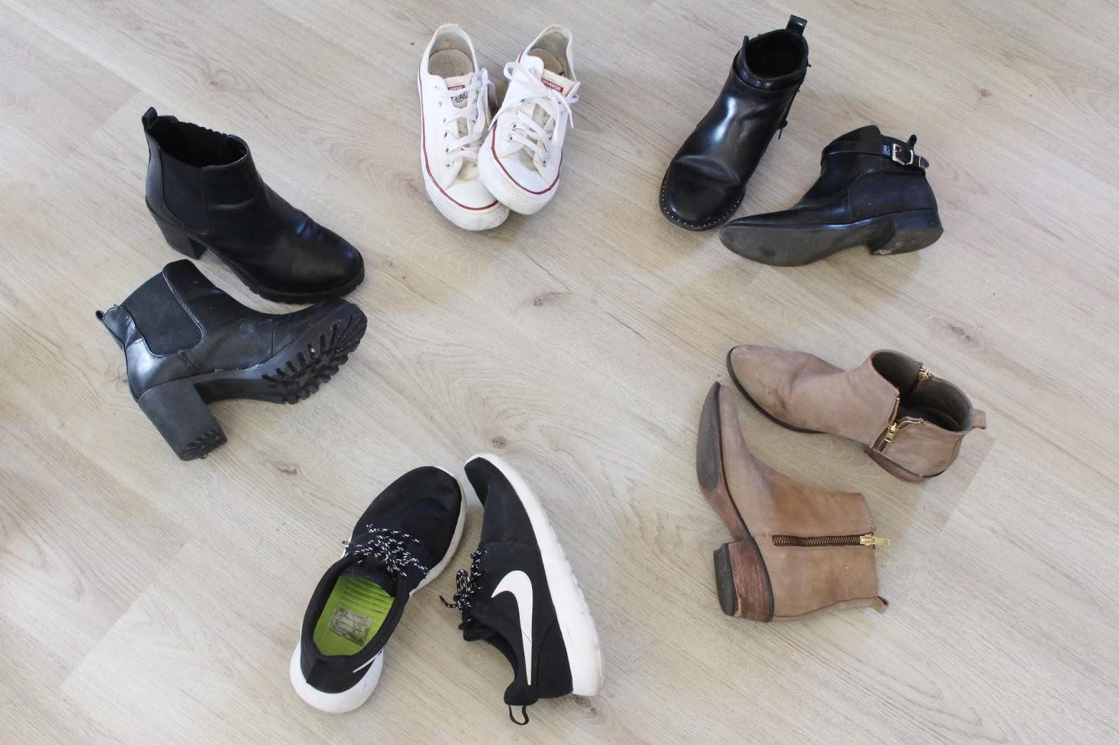 5 x meest gedragen schoenen