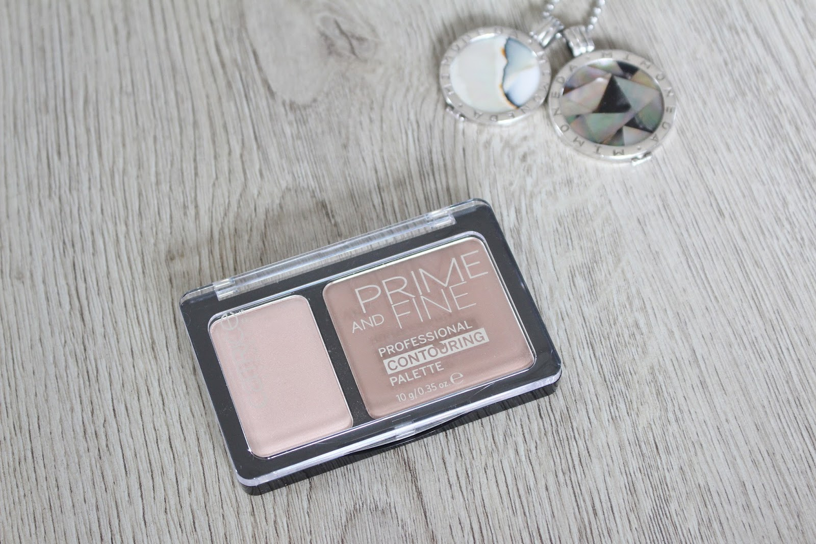 Catrice Prime and Fine Professional Contouring Palette (Ashy Radiance)